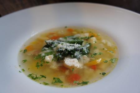 身体に優しいスープ
